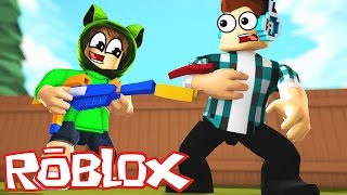 Roblox : NERF'S WAR OF FOOD ( Food Fight! )