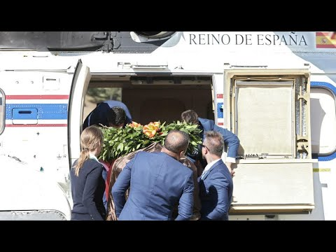 Spain transfers Franco's remains from state mausoleum to family crypt