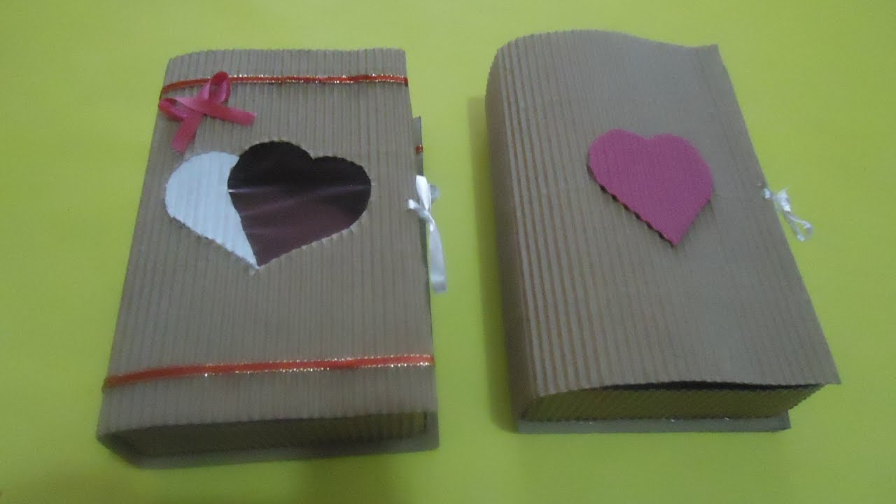 Caja Forma De Libro Para Decorar