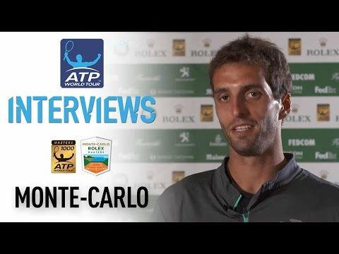 Ramos-Vinolas Discusses Reaching First Masters 1000 Final At Monte Carlo 2017