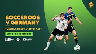 Full Game Socceroos v Germany in 2011 Friendly Match