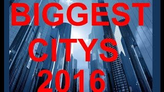 TOP 20 Biggest Citys in the World 2017 / TOP 20 Größten Städte der WELT