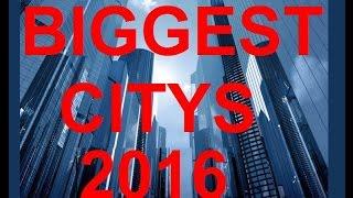 TOP 20 Biggest Citys in the World 2017 / TOP 20 Größten Städte der WELT