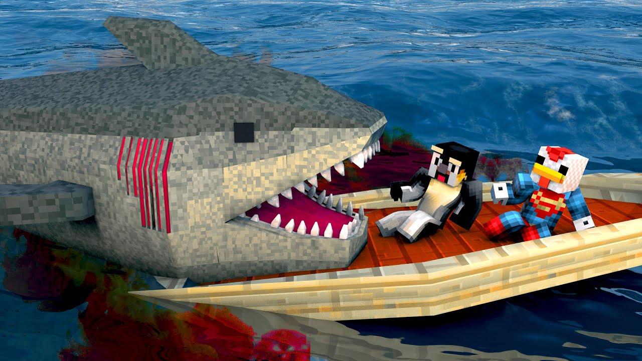 Minecraft | FISHING CHALLENGE - Legendary Monster Fish ...