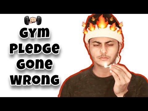 Gym pledge gone wrong!!! | Abhishek Nigam