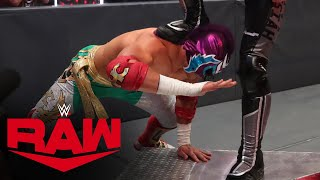 Aleister Black & Humberto Carrillo vs. Seth Rollins & Murphy: Raw, June 29, 2020
