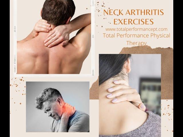 Neck Arthritis Exercises