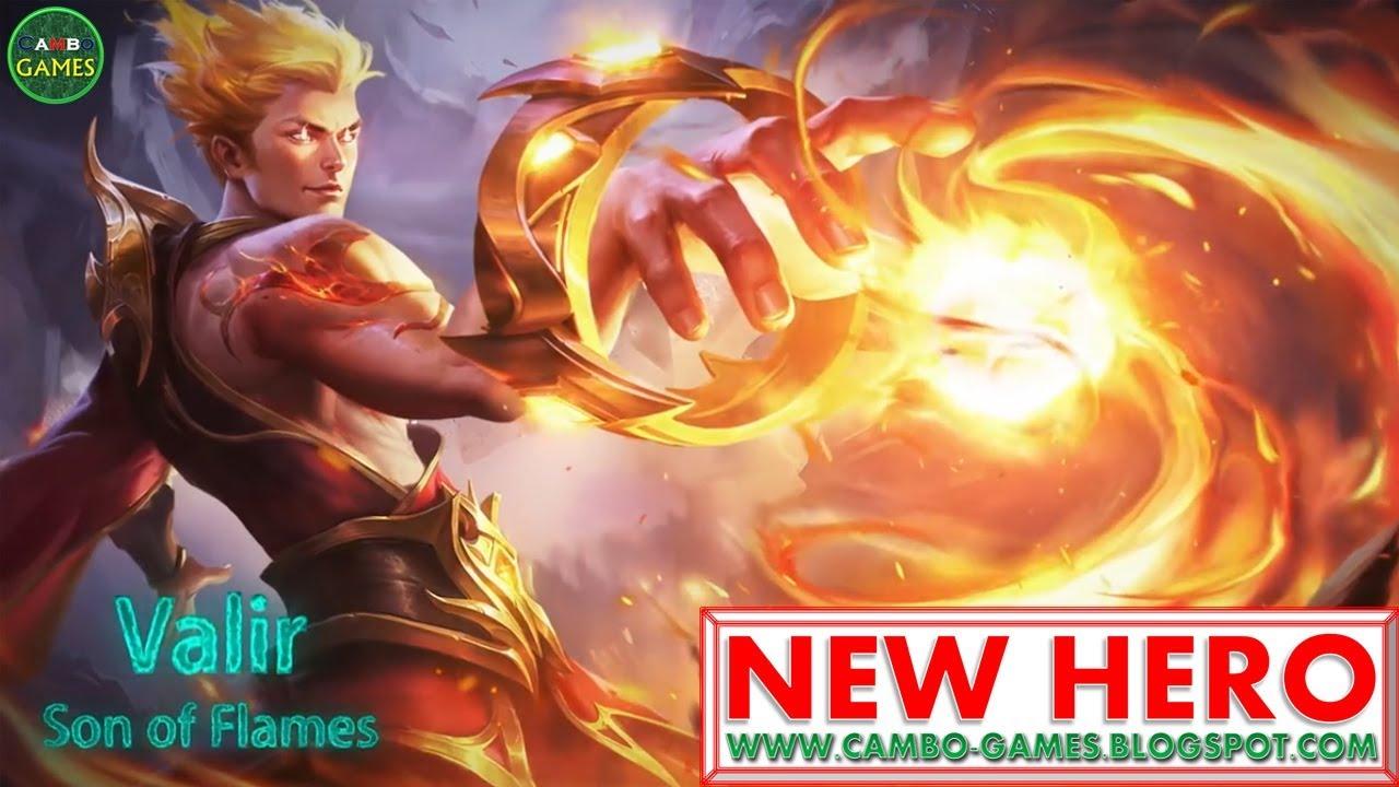 mobile legends bang bang 5v5: new hero son of flames valir