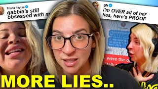 Gabbie Hanna Is OVER Trisha LYING About Her!!!