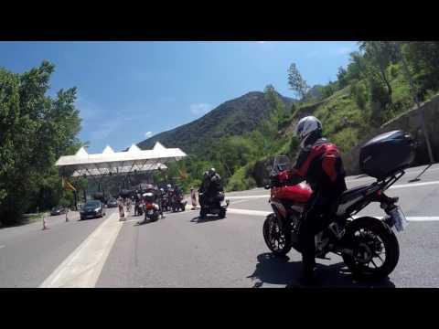 Andorra 2017 cruzando la frontera