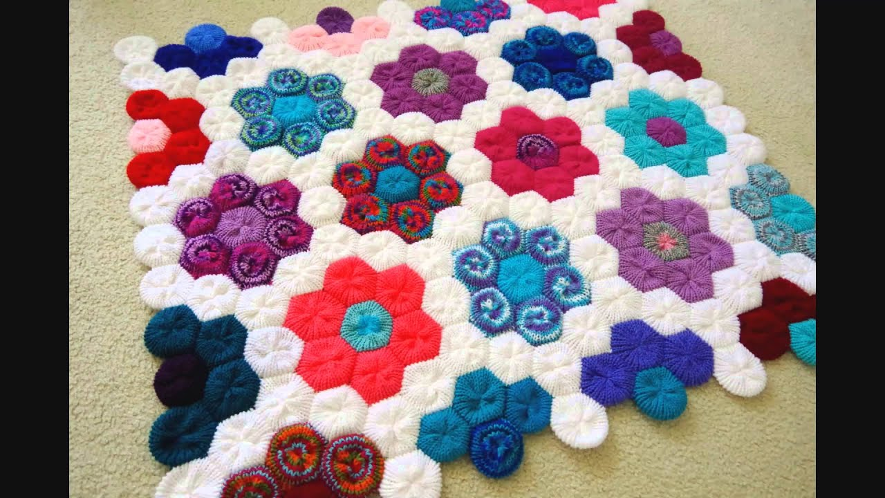 Finished March Afghan - 12 Afghans In 12 Months Challenge - Addi ...