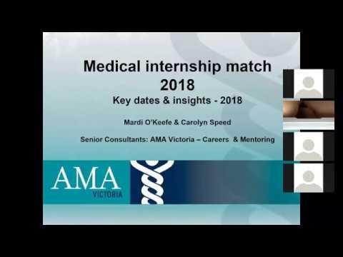 AMA Internship Process Night