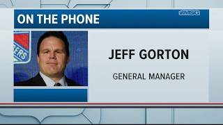Jeff Gorton: Picking No. 2 Overall Means a Lot | New York Rangers | MSG Networks