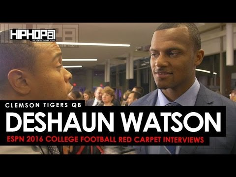Clemson Tigers QB Deshaun Watson talks the Heisman, & More on the ESPN 2016 College Football Awards