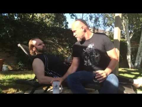 ALS Ice Bucket Challenge Todd Farmer and Tyler Mane conserving water