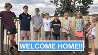 Welcome HOME - Family of 11 | Australian Family Vlog