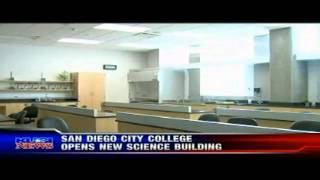 KUSI News - San Diego City College Opens New Science Building