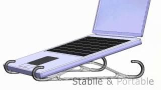 Fishhook Laptop Stander