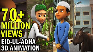 Bakra Eid Islamic Kids Cartoon 3D Animation Eid
