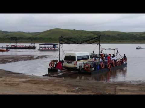 Great Kei river pont crossing.