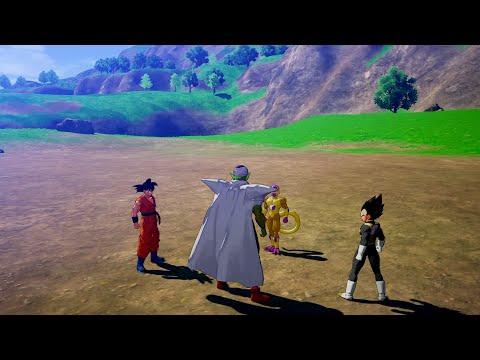 Dragon Ball Z: Kakarot - A New Power Awakens Part 2 - Piccolo vs Golden Frieza - Lvl 300 Gameplay |