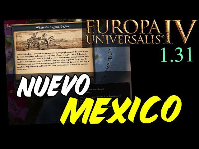 CONTENIDO para NUEVO MEXICO - Europa Universalis 1.31 en español
