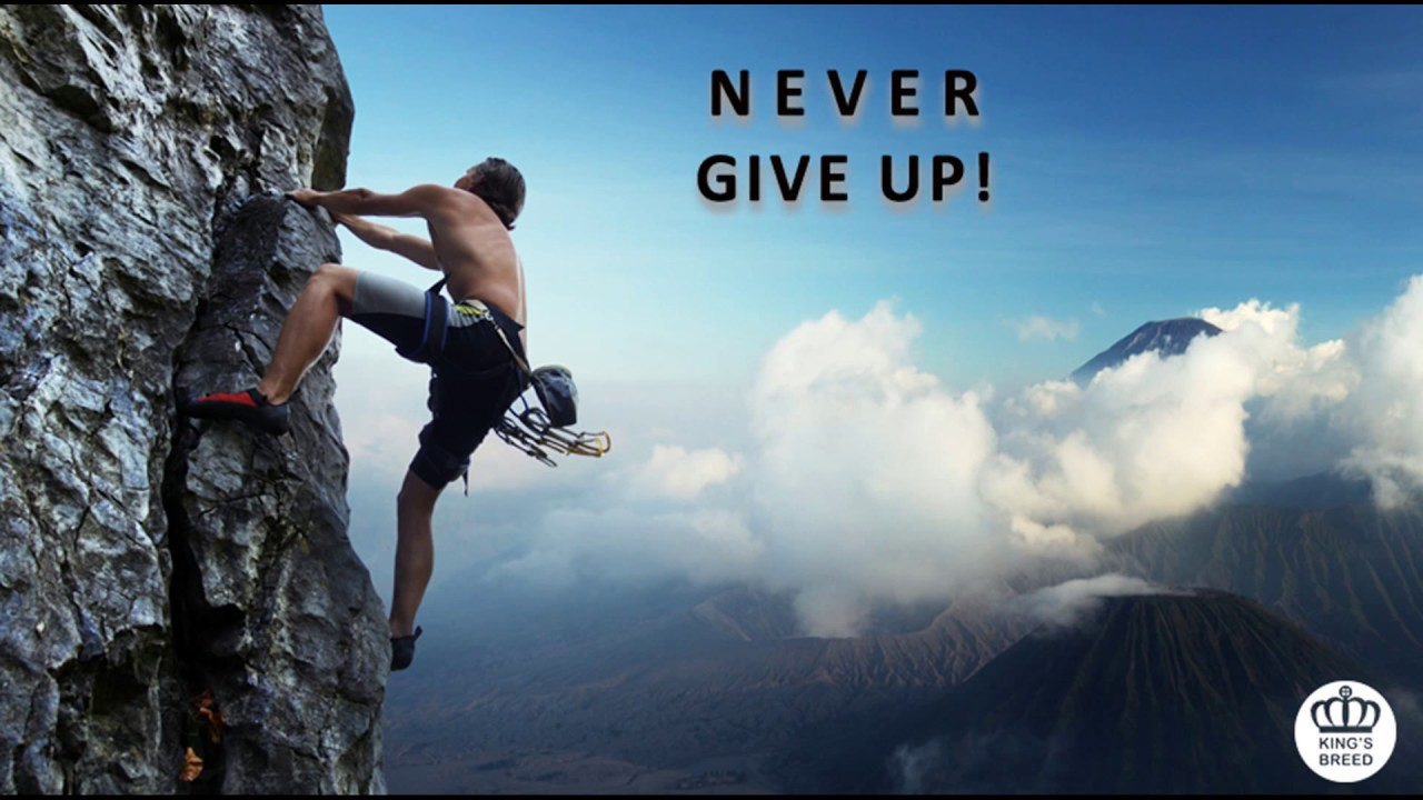 Sermon on never give up