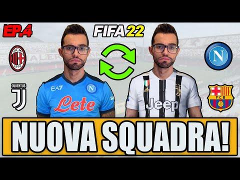 😍 HO SCELTO LA NUOVA SQUADRA!! ECCO DOVE SONO ANDATO!! FIFA 22 CARRIERA GIOCATORE #4