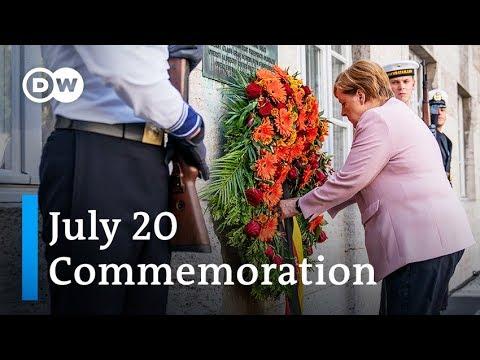 Merkel speech at 75th anniversary of Hitler assassination attempt | DW News