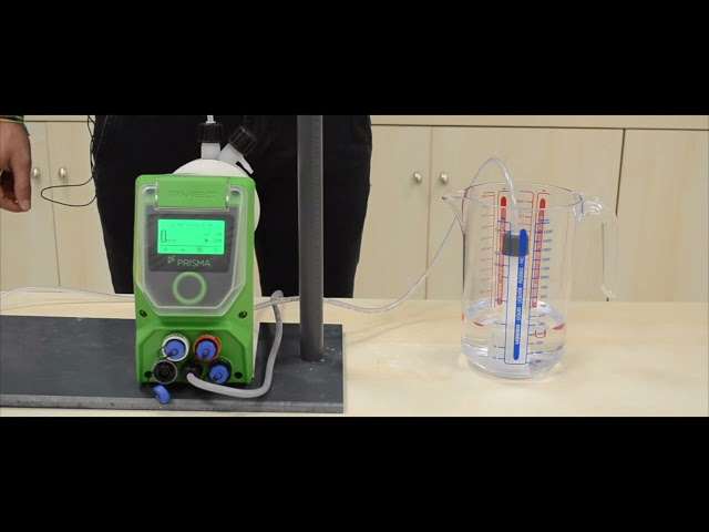 PRISMA - How to calibrate the pump