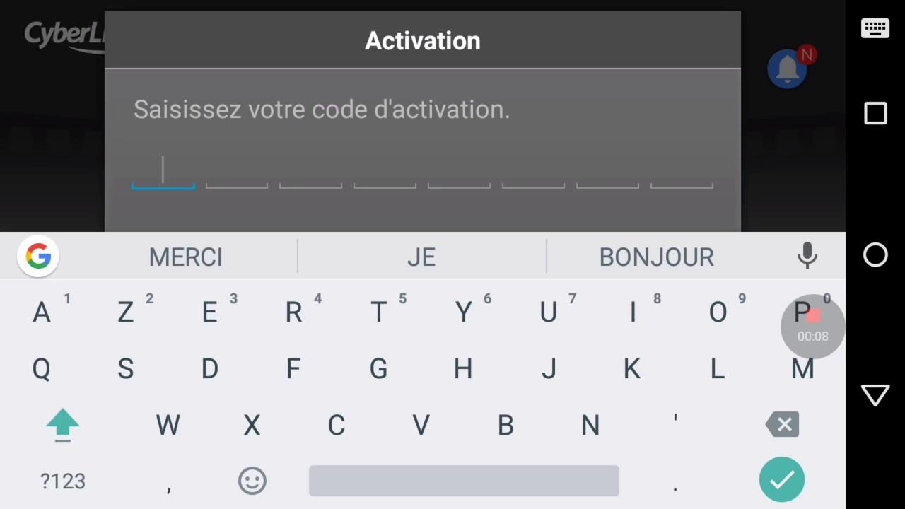 powerdirector activation code 2016