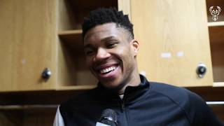 """I'll Pay For The Sign."" - Giannis Antetokounmpo 