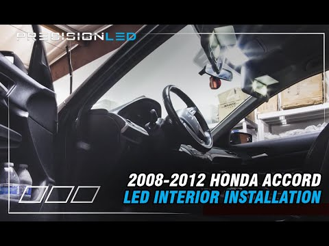 Honda Accord LED Interior How To Install – 8th Generation 2008-2012