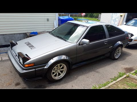 1987 Corolla GTS AE86 First Startup! Take Two!