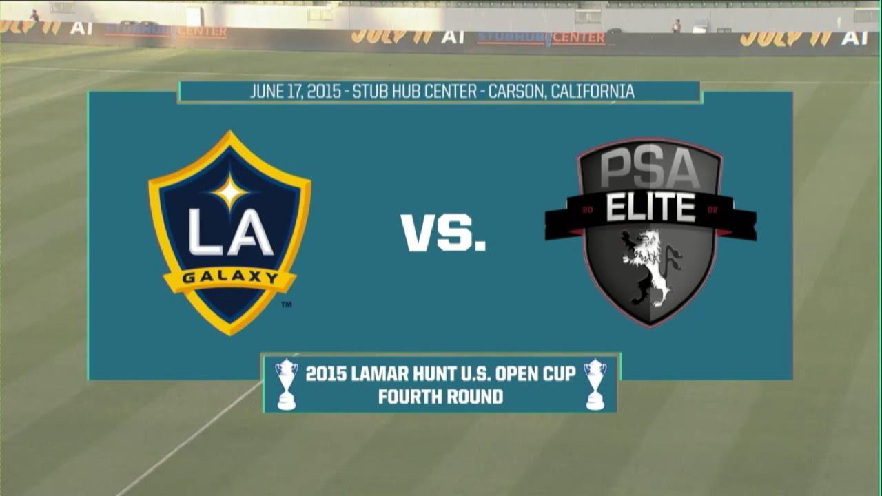 LA Galaxy 6-1 PSA Elite