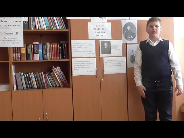 Изображение предпросмотра прочтения – ДаниилКнязев читает произведение «Есть в осени первоначальной...» Ф.И.Тютчева