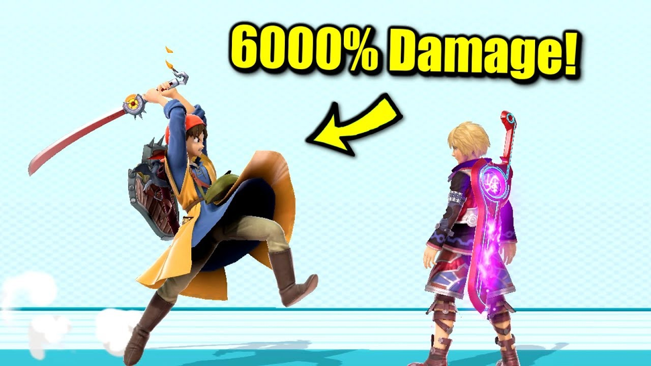 How to Deal Over 6000% in One Hit in Super Smash Bros. Ultimate thumbnail