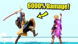 How to Deal Over 6000% in One Hit in Super Smash Bros. Ultimate
