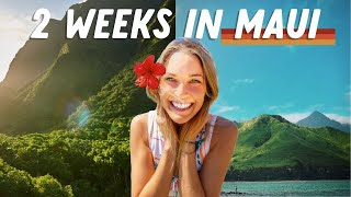 THE ULTIMATE MAUI TRAVEL VLOG (2 Weeks in Maui)