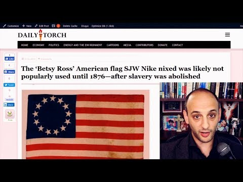 Nobody Heard Of Betsy Ross Or Her Making The American Flag Until 1870—after Slavery Was Abolished
