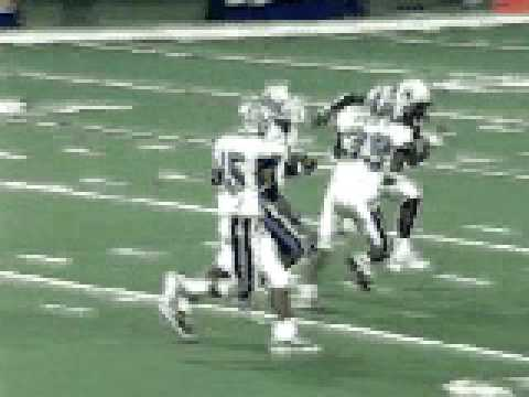 Ronald Curry TD Scramble