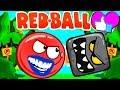 Cartoon Game Om Nom Network New Red Ball Gameplay 😡 Мультик Игра НОВЫЙ КРАСНЫЙ ШАР ГЕЙМПЛЕЙ