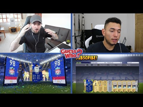 OMG MY BEST PACK ON FIFA 18  GUESS WHO? vs OAKELFISH  98 RATED TOTS DISCARD?