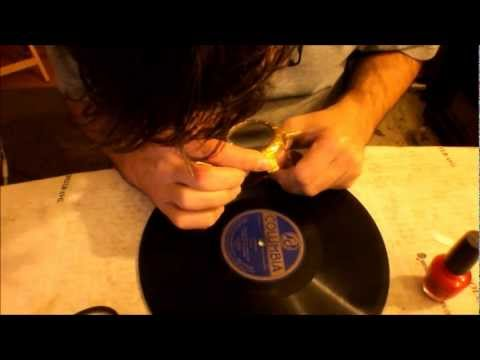 78RPM Records How to Fill In Deep Damaged Groove Spots Experimental