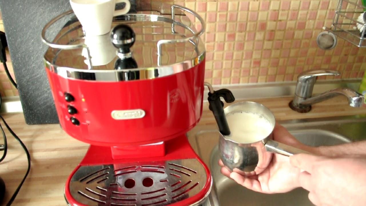 Delonghi Icona Micalite Ecom 311 R Coffee Machine Red