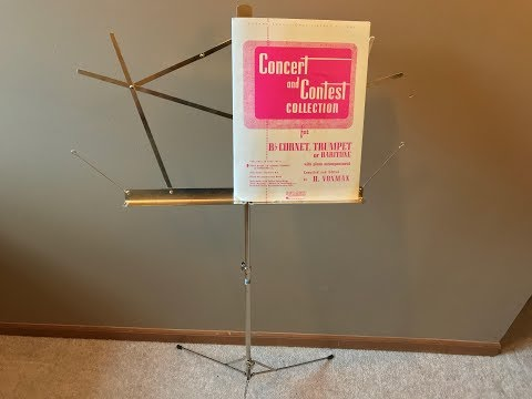 How to Set Up a Music Stand