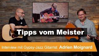 Interview mit Gypsy Jązz Gitarrist Adrien Moignard - SUPERGAIN TV 141