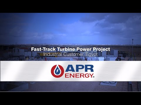 Installation of Dedicated Power for Egypt's Industrial Complex | APR Energy