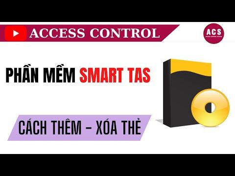 Cách thêm thiết bị, đăng ký, xóa thẻ trên phần mềm SmartTAS cho đầu đọc Soyal
