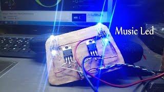Cara Membuat LED Berkedip Mengikuti Suara Musik